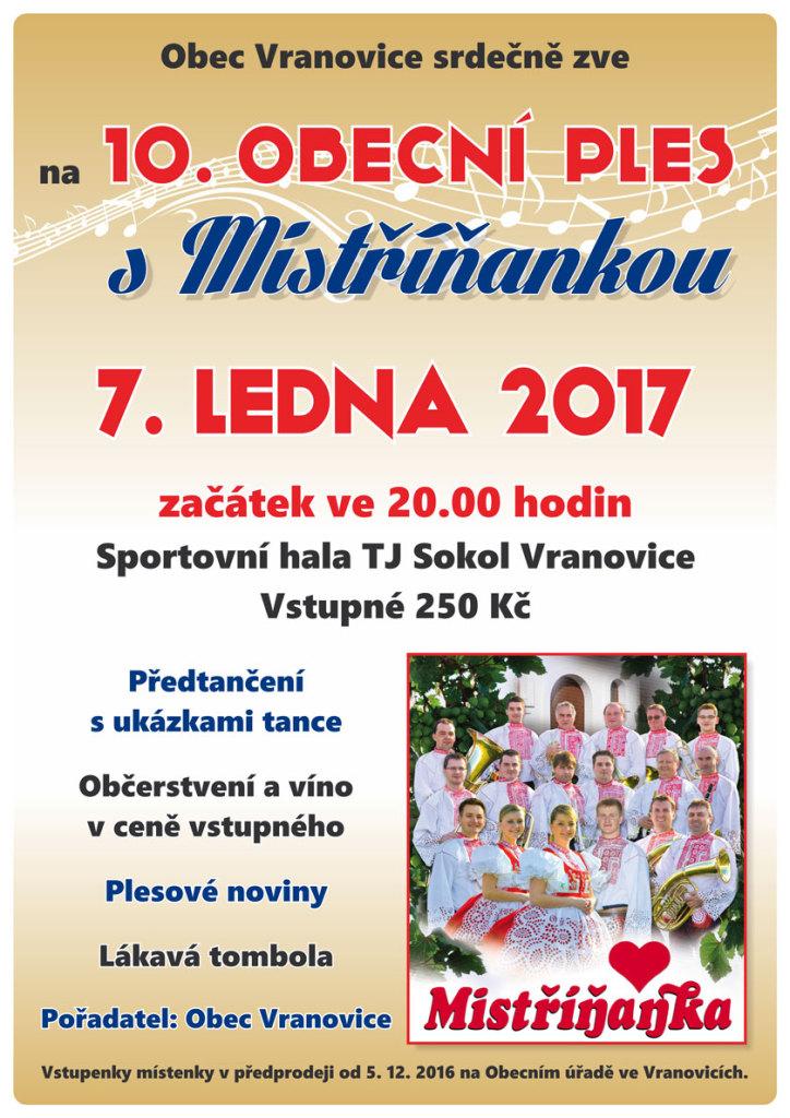 VranovicePles2017 Plakat