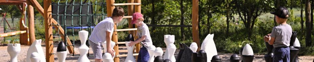 Park Hlinek Vranovice šachy
