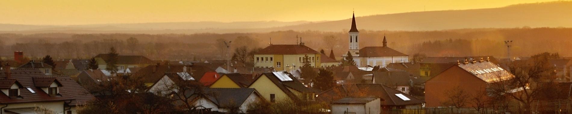 Vranovice panorama svítání