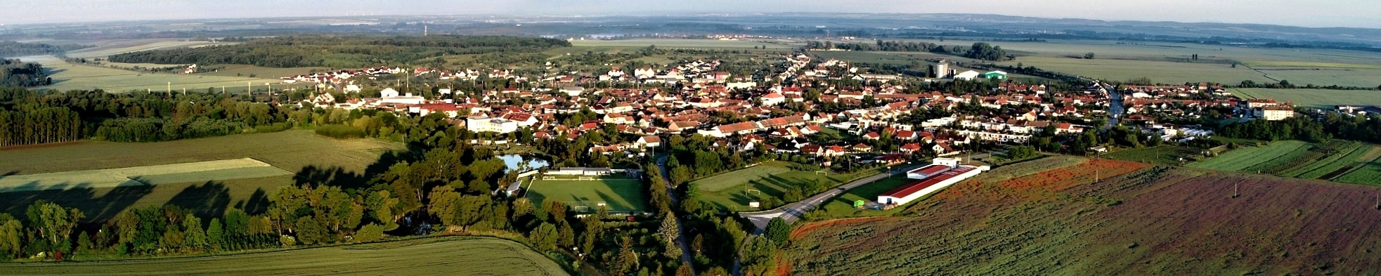 Vranovice panorama pohled od JV