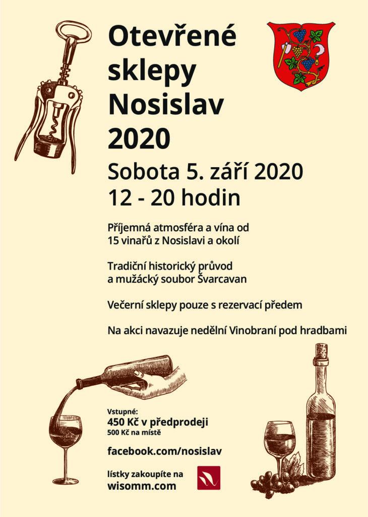 Otevřené sklepy Nosislav 2020