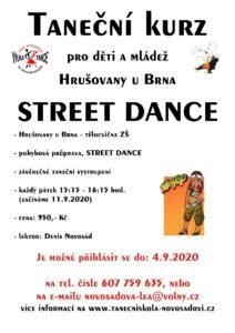plakat street hrusovany 2020 2