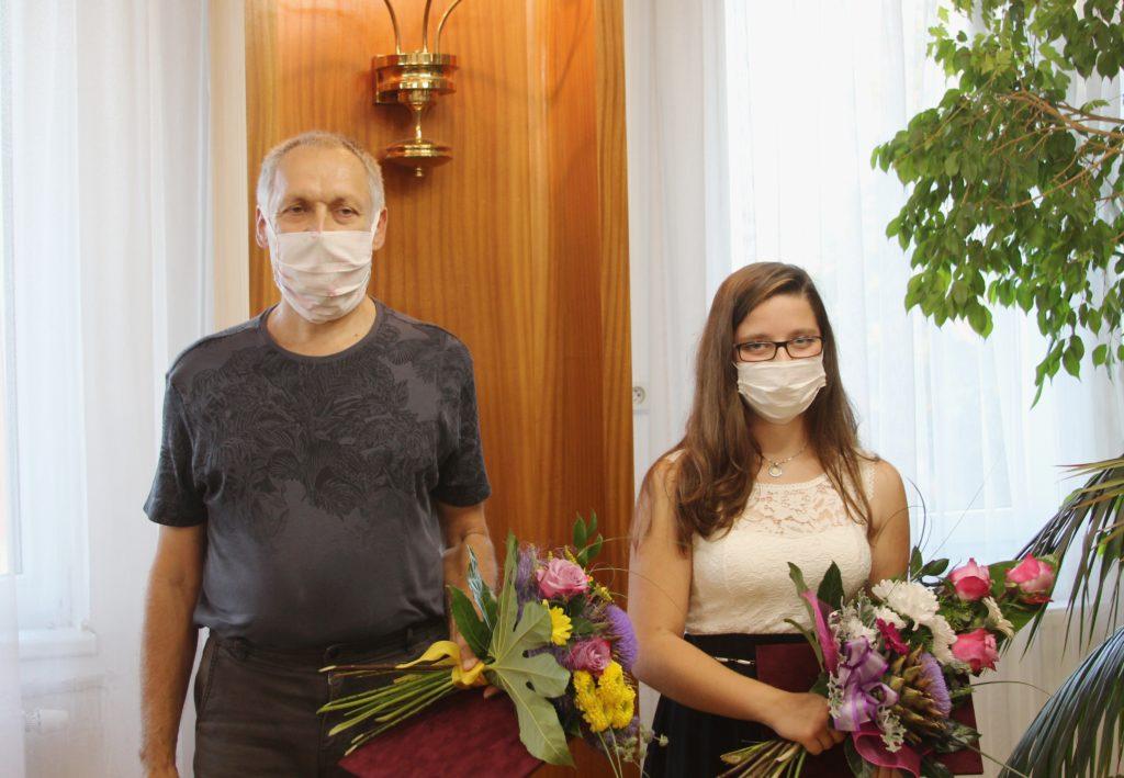 Jaroslav Mazuch a Aneta Zugarová