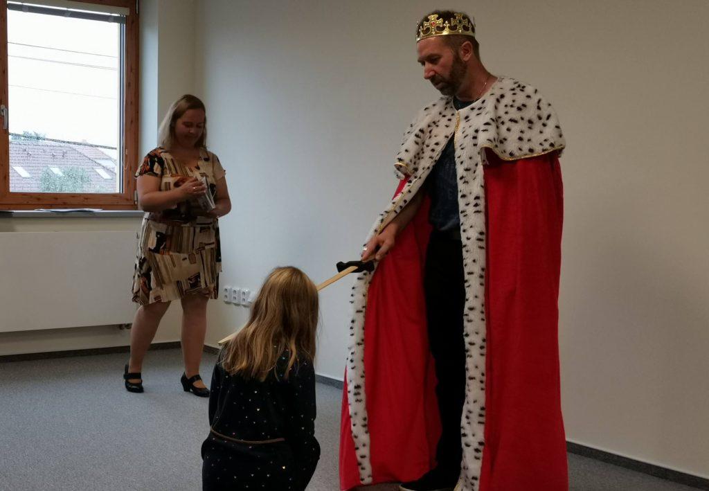 Pasování králem Lexikonem