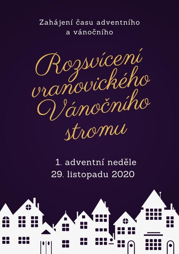 Zahájení času adventního a vánočního