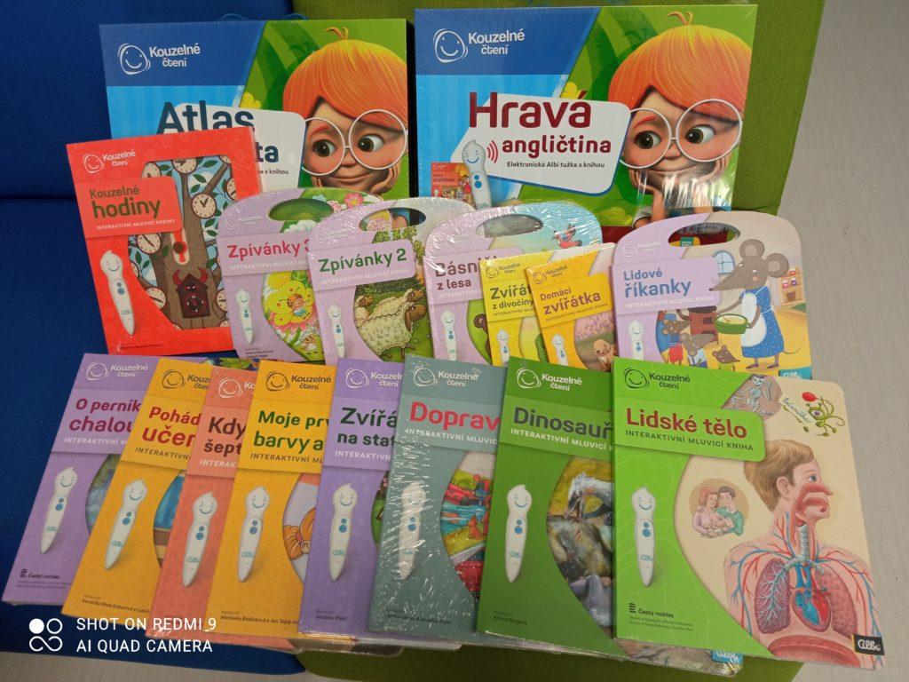 Albi tužky a knihy
