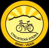 logo cyklostezky Brno Viden